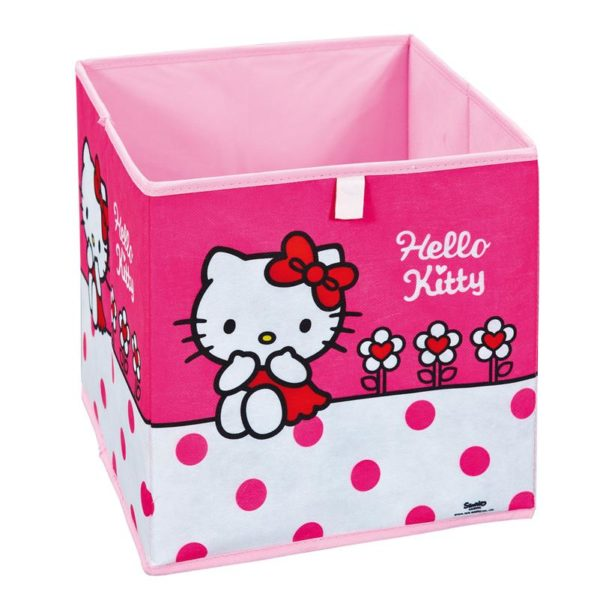 Faltbox Aufbewahrungs-Box HELLO KITTY Flower